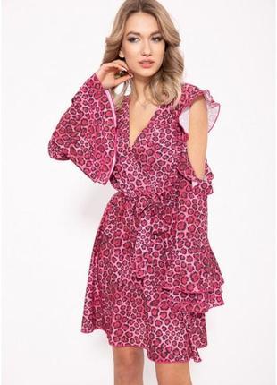 Вискозное платья на запах! 2 цвета