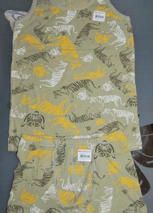 Комплект 8-9 лет донелла donella тигры боксеры