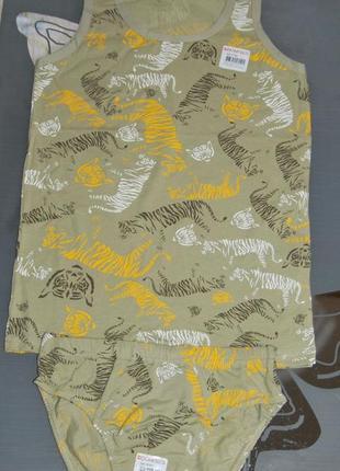 Комплект 8-9 лет донелла donella тигры