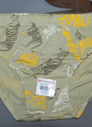 Трусы плавки 8-9 лет донелла donella тигры