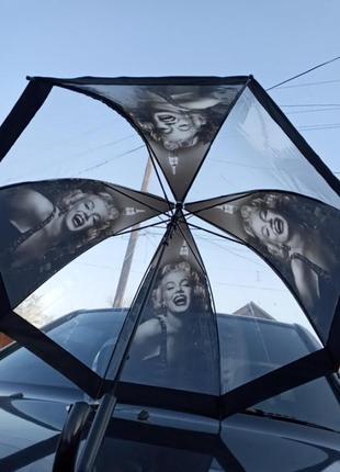 Зонт-трость с мэрлин монро.