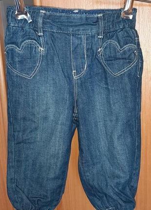 Распродажа!!!!стильные джинсы h&m для маленькой модницы(испания)