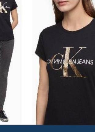 Стильная футболка от calvin klein!!