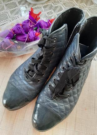 Ботинки весенние полусапожки короткие ботиночки р.39