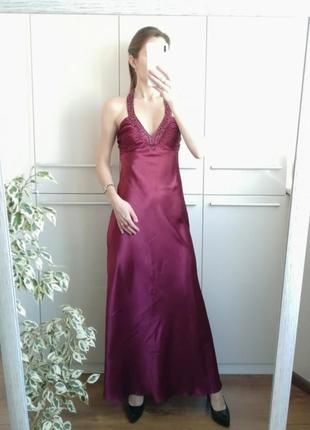 Шикарное нарядное  вечернее длинное  платье в пол 🌺