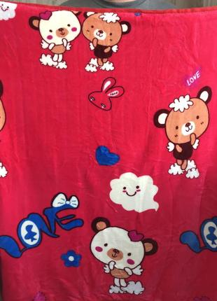 Пледы детские новые покрывало в кроватку коляску качество супер!