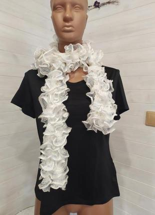 Классный шарф боа