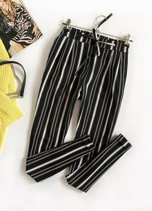 Обалденные зауженные брюки с высокой посадкой tally weijl