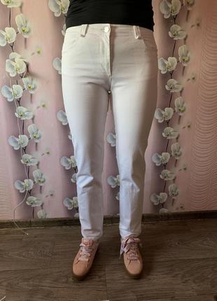 Новые классные укорочены штаны ovs италия / джинсы стильные mom