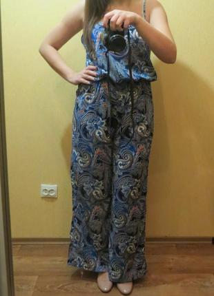 Комбинезон с брюками-палаццо размер 50-52 большой выбор одежды, заходите!