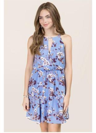Платье в цветы francesca's