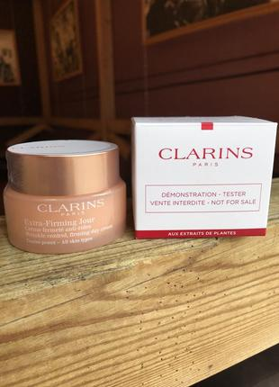 Дневной крем clarins extra-firming day rich cream for all skin