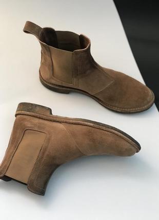 Оригинал челси ботинки bottega veneta