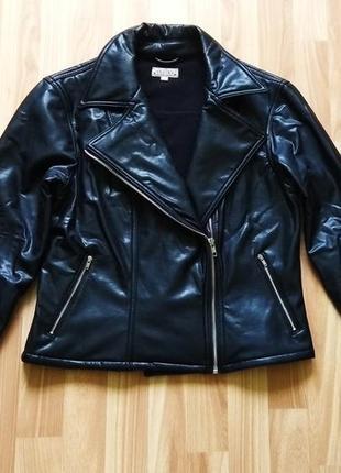 Черная косуха от teddy's, кожанка, куртка, курточка