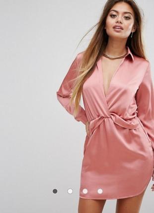 Рожева сукня  prettylittlething