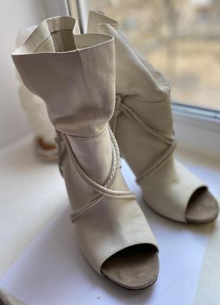 Оригинальные ботинки, натуральная кожа