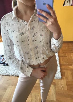 Сорочка bershka