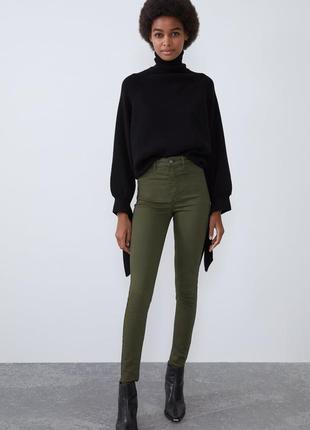 Новые джинсы скинни zara