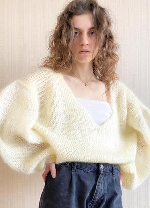 Оверсайз свитерок