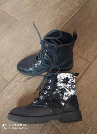Ботинки zara 31 размер