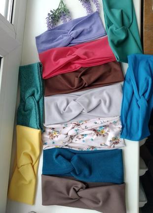 #розвантажуюсь разпродажа повязка чалма трикотаж тюрбан аксессуары для волос