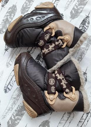 Зимние ботинки demar