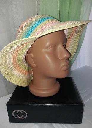 Летняя шляпа на 4-6 лет