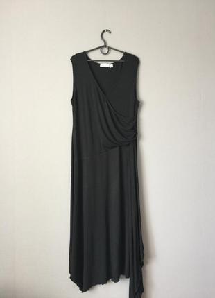 Вискозное платье next 16--52 размер.