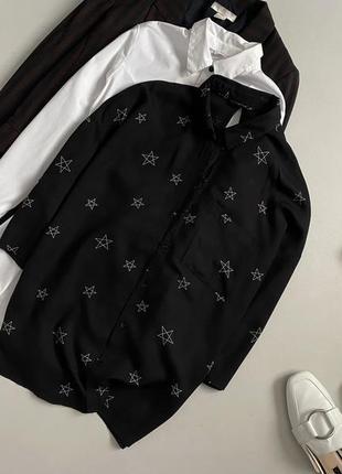 Стильная рубашка с принтом only
