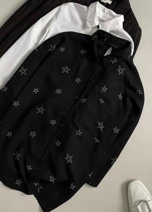 Стильная рубашка с принтом only4 фото