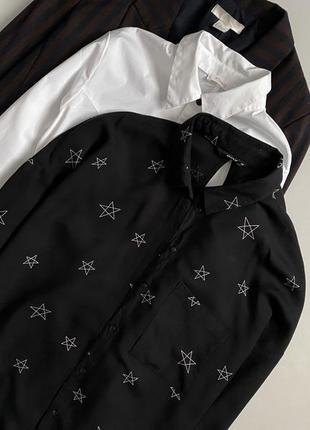 Стильная рубашка с принтом only3 фото