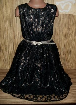Платье нарядное yd на 10-11 лет