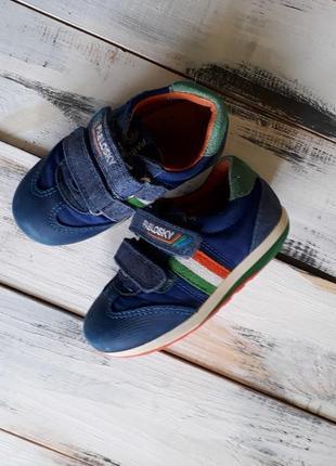 Кожаные ортопедические кроссовки, ботинки