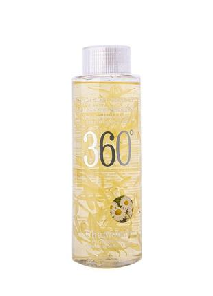 Корейский тонер для лица wokali natural beauty blossom essence 360 chamomile