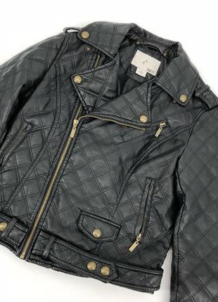 Крутая кожаная куртка, косуха bar iii