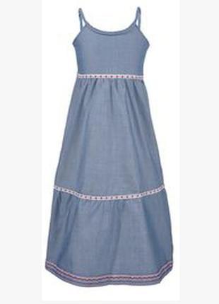 Сарафан, сукня, р.116-128, lupilu, німеччина / платье