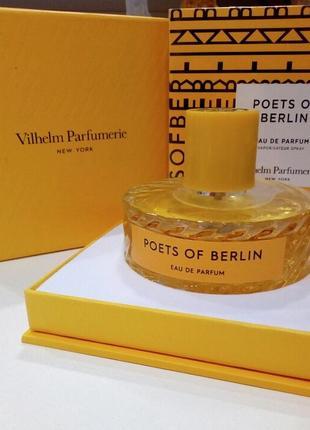 #розвантажуюсь💥акция💥poets of berlin vilhelm parfumerie 10 мл