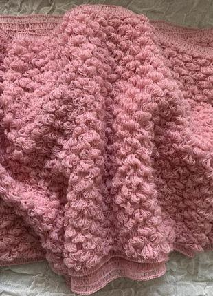 Буклированный шарф снуд mary kay