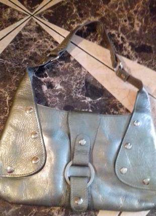 Renzo rainero)сумка клатч)кожа