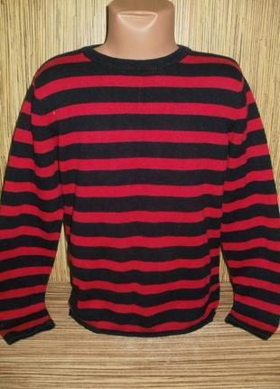 Тонкий свитер h&m на 7-8 лет