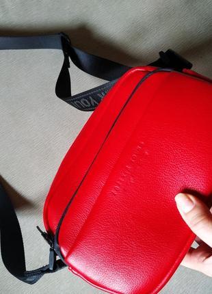 Красная сумка, маленькая сумочка💕