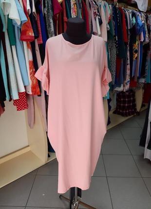 Oversize платье балахон