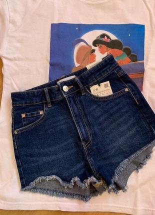 Короткі джинсові шорти  zara