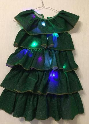 Карнавальный костюм «ёлочка»