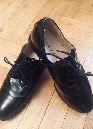 Туфли,оксфорды,кожа,от esmara esmara