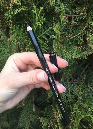 Черный карандаш для глаз фирмы коллистар