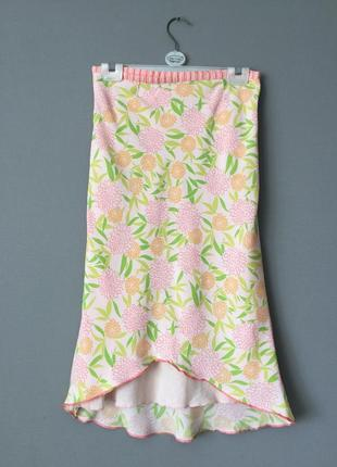 Винтажная юбка карандаш quiksilver 6-8--40-42 размер.