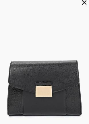 Стильная чёрная сумка dorothy perkins