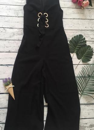 Комбинезон брючный vero moda брюки кюлоты широкие