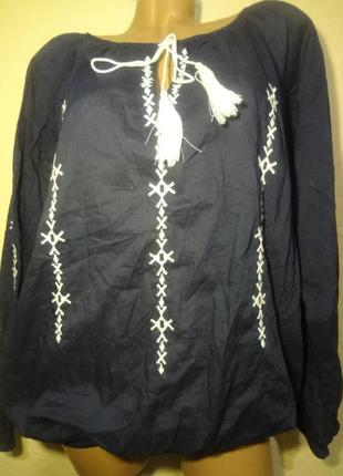 Вышиванка/блуза trend one размер м